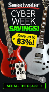 Cyber Week Savings at Sweetwater.com!