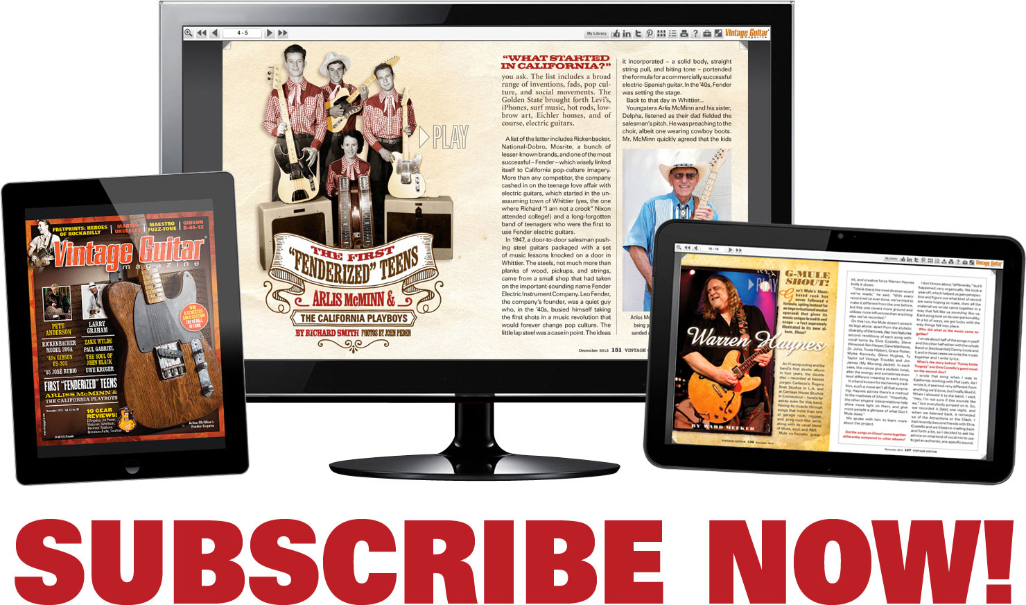 Vintage Guitar magazine Digital Edition