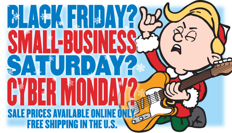 Rockin' Cyber Monday Savings!