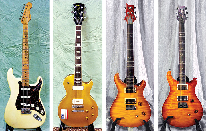 Tom Johnstons Guitars