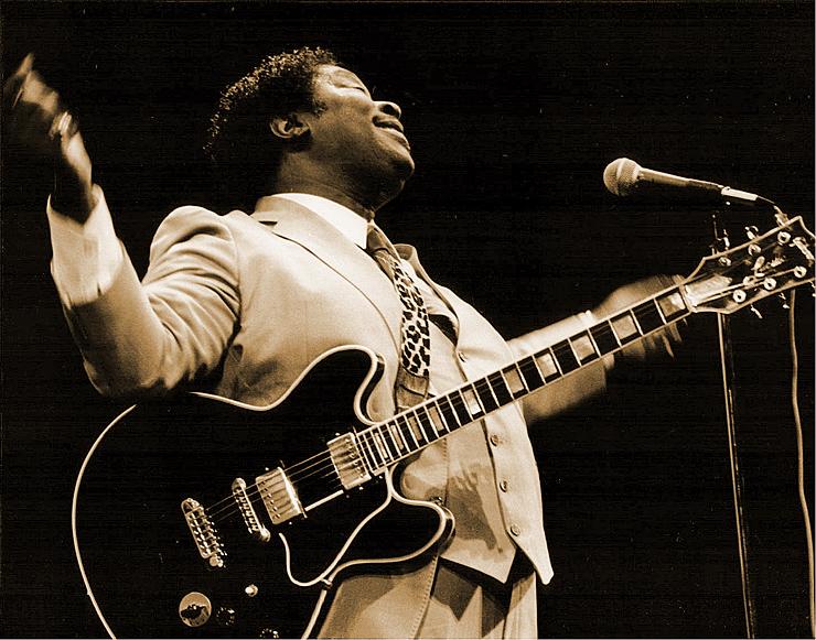 B.B. King Manchester Bob Hewitt Vintage Guitar magazine