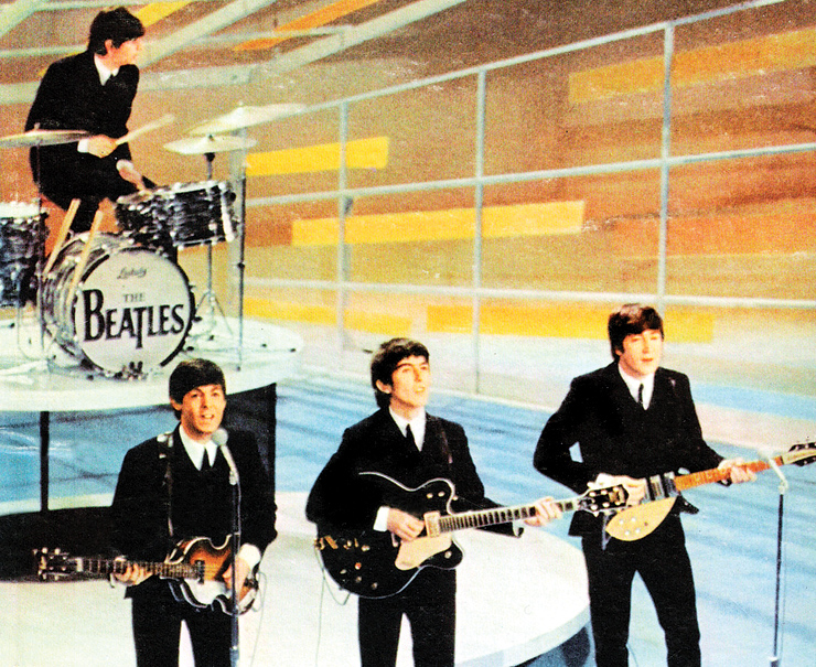 Something new – the Beatles on Ed Sullivan!