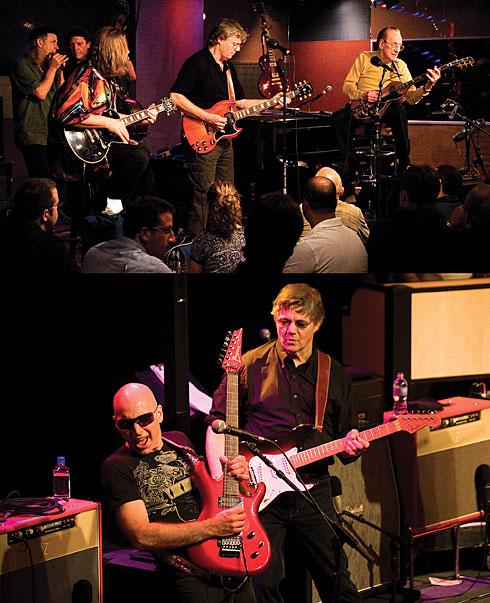 Steve Miller, Les Paul,  Joe Satriani.