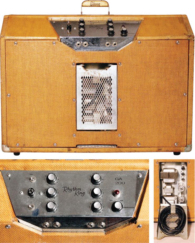 A circa 1960 Gibson GA-200 Rhythm King.