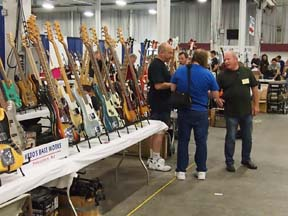 Kevin Borden, Kebo's Bass Works and David Davidson, We Buy Guitars.