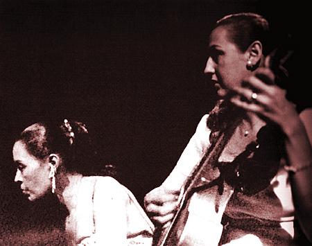 Osborne with Billie Holiday