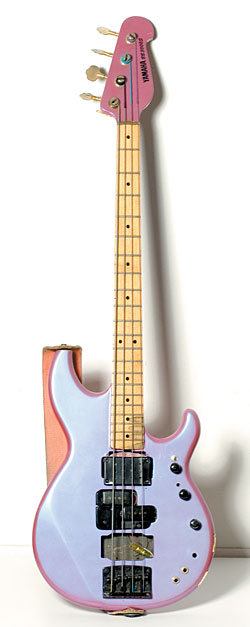 The original Yamaha BB bass, used by Sheehan on tour and in the studio with David Lee Roth and Mr. Big