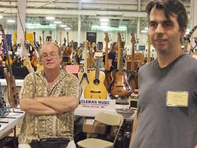 Chip Coleman, Coleman Music and Ben Taylor, Southside Guitars.