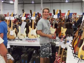 Brian Goff, Bizarre Guitars, Wisconsin.