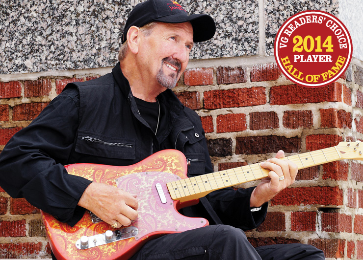 Vintage Guitar Readers' Choice Hall of Fame 2014 Player