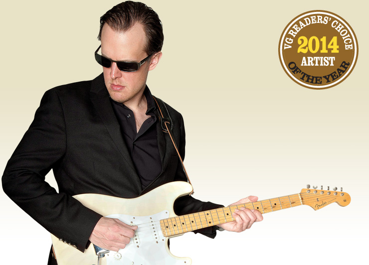VG Readers' Choice 2014 Artist of the Year Joe Bonamassa