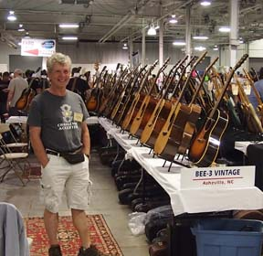 Great American Guitar Show promoter, Gary Burnett.