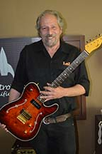 Lance Lerman founder of LSL Guitars.
