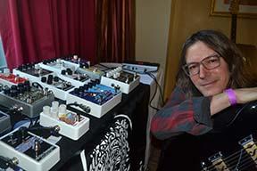 Jon Skibic of Electro-Harmonix.