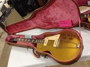 1952 Goldtop Les Paul at Hank's Vintage Guitars.