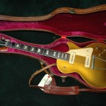 Early 52 Les Paul gold top. No serial number. Original HSC