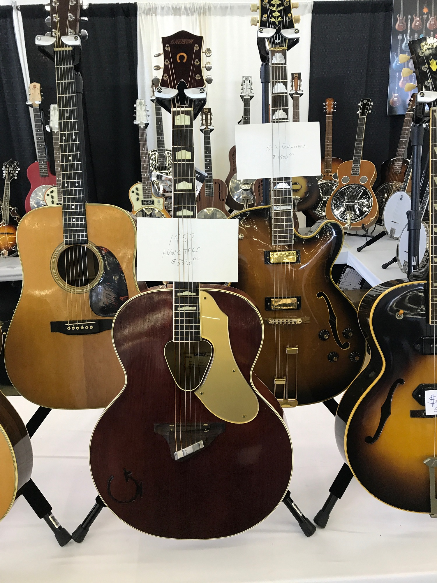 Dallas International Guitar Show May 2017 Vintage