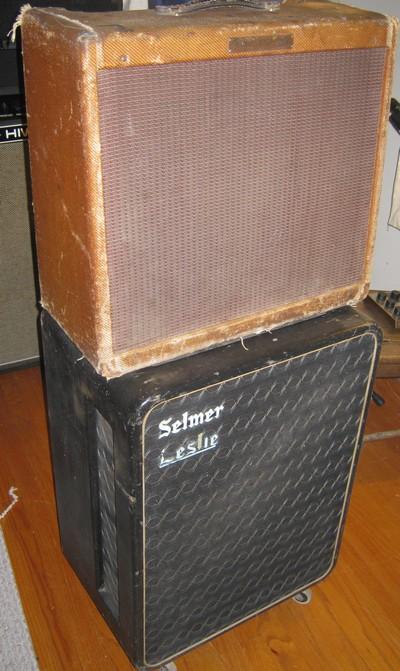 1959 Pro/Selmer leslie 16