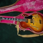 1962 all original Gibson ES 350T with OHSC.