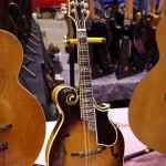1977 Gibson F-5 in mint condition - too bad it sounded so thin.
