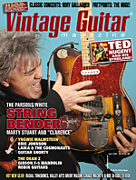 Vintage Guitar magazine April 2004