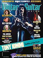Vintage Guitar magazine August 2005