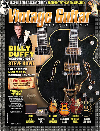 Vintage Guitar magazine July 2012