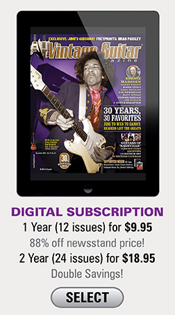 1 year (12 Issues) for $9.95 2 years (24 issues) for $18.95