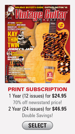 1 year (12 Issues) for $24.95  2 years (24 issues) for $46.95