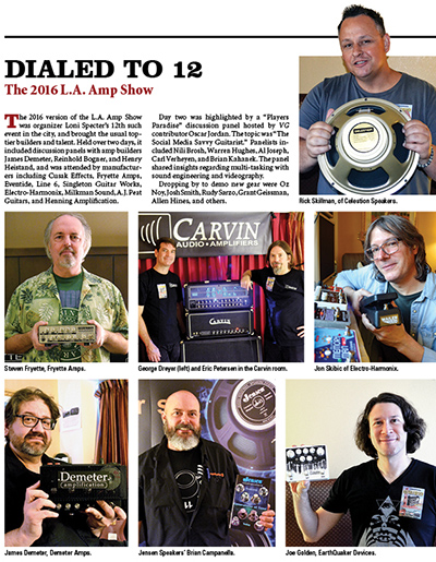 Read about The 2016 L.A. Amp Show.