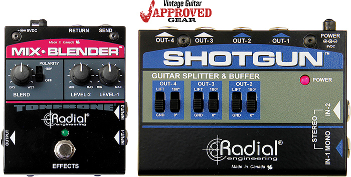 Look for the Radial's Mix Blender and Shotgun in VG Approved Gear!