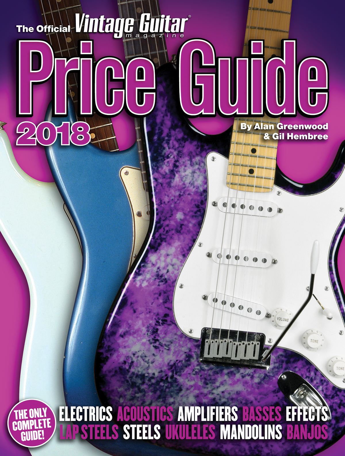 The Official Vintage Guitar Price Guide 2018