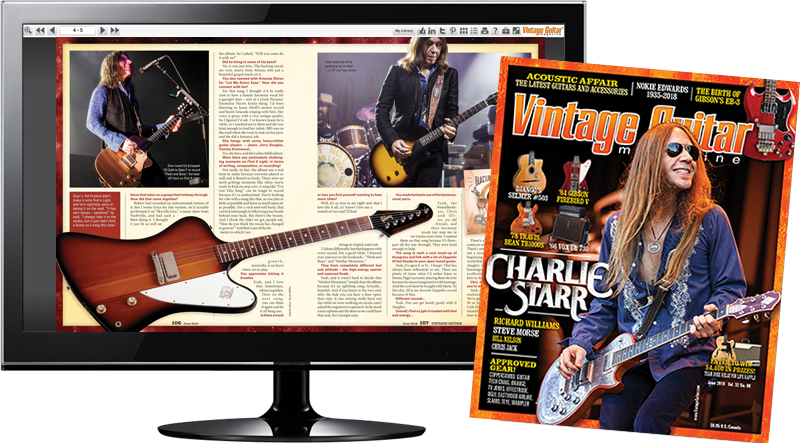 Pat Metheny | Vintage Guitar® magazine