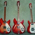 3 Rickenbackers