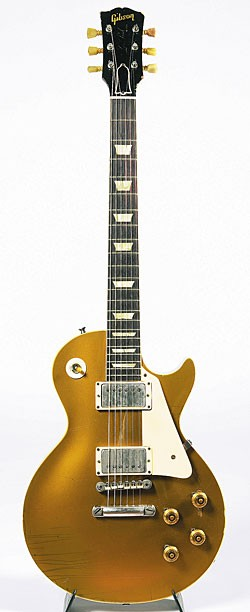 1958 Gibson Les Paul goldtop.