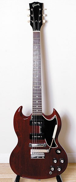 '65 Gibson SG with original vibrato tailpiece