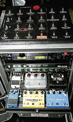Urban's effects rack