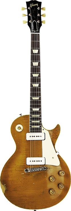 1956 Gibson Les Paul Goldtop.