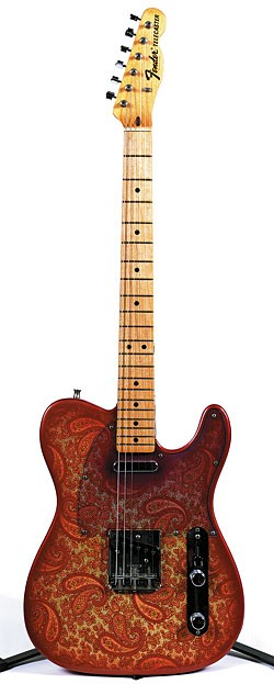 '68 Fender Telecaster in Pink Paisley. Photos by Pat Johnson.