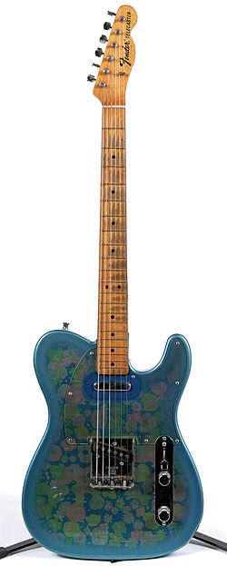 '69 Fender Telecaster in Blue Floral.