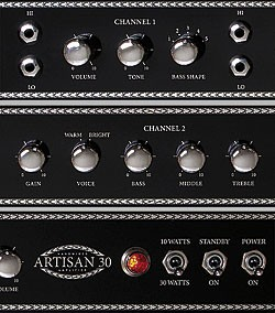 Blackstone Artisan 30 control Panel