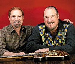 Felix Cavaliere (left) and Steve Cropper