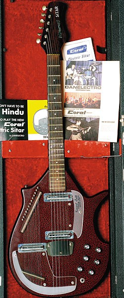 Late-'60s Coral Sitar.