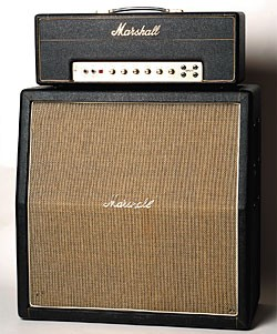 1968 Marshall 50-watt half-stack