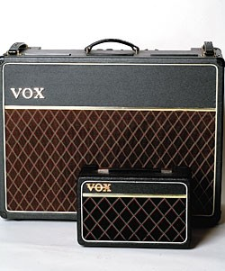 1964 Vox AC30 with early-'70s Vox Escort