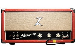 Paisley's primary Dr. Z Stingray amp.