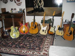 Some of My Old Guitars
