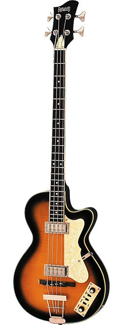 Eastwood Club Bass in Sunburst