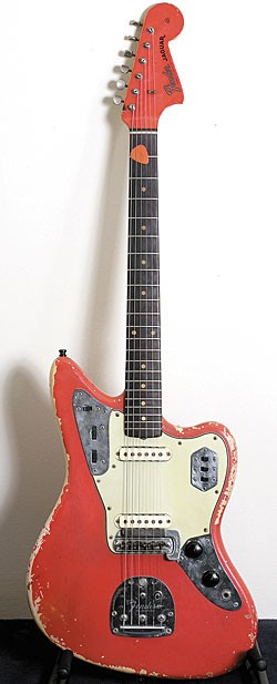 his 1962 Fender Jaguar