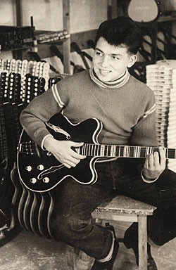A 16-year-old Dieter Fischer in 1959/'60